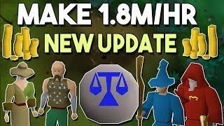 You Can Now Make 1.8m/hr Because of this New Update! Oldschool Runescape Money Making Method [OSRS]