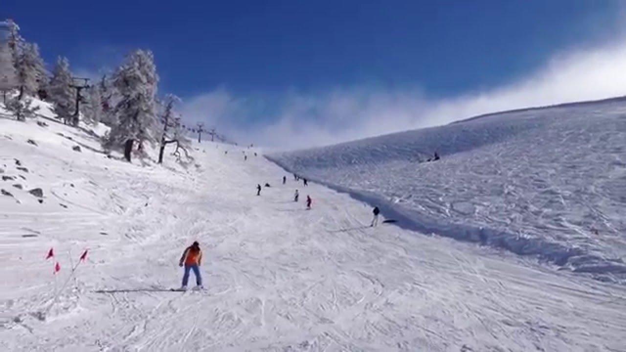 A Nice Day In Kartalkaya Ski Centre Youtube