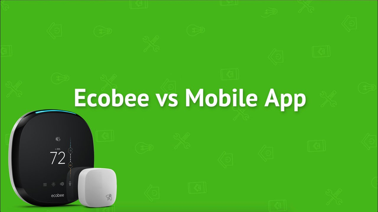 How To Use The Ecobee Mobile App With Your Smart