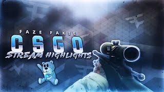 FaZe Fakie - CS:GO HIGHLIGHTS! #3