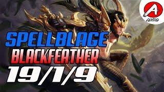 Vainglory Gameplay -  Blackfeather CP Jungle Gameplay Update[2.4]