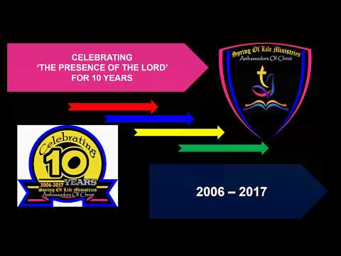 Celebrating 10 Years; Spring of Life Ministries; Jamshedpur, Jharkhand