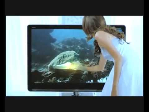 iklan SHARP AQUOS QUATTRON(tahun 2010)