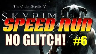 Skyrim No Glitch Speed Run - Part 6 - Alftand, Blackreach and Learning Dragonrend