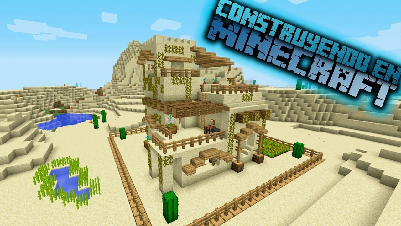 Como hacer una casa en el desierto para sirvival en Modelo de viviendas para construir