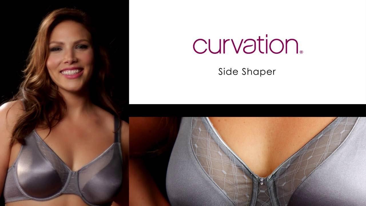 c2e484c037 Curvation - Side Shaper Underwire Bra - YouTube