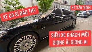 Trong dàn siêu xe Giọng Ải Giọng Ai, xe ca sĩ Bảo Thy đẹp nhất, xe Trấn Thành thua xa?