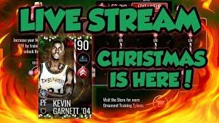 NORTH POLE PROMO IS HERE!!! KEVIN GARNETT GRIND (NBA LIVE MOBILE 19 STREAM)
