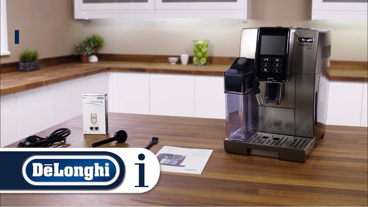 What's in pack with your De'Longhi Dinamica Plus ECAM 370 ...