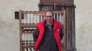 Christian Chatard   Eleveur de volailles de Bresse AOP à  Viriat 01