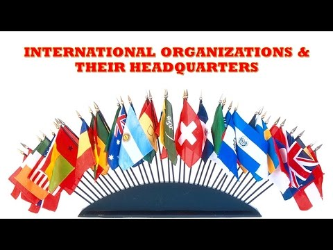 Tricks to Remember International Organizations and their Headquarter!! - Study Capsule