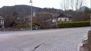Travaux voie verte cyclable montée du thoron de Talloires 2012