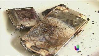 El teléfono celular explotó bajo la almohada de una adolescente