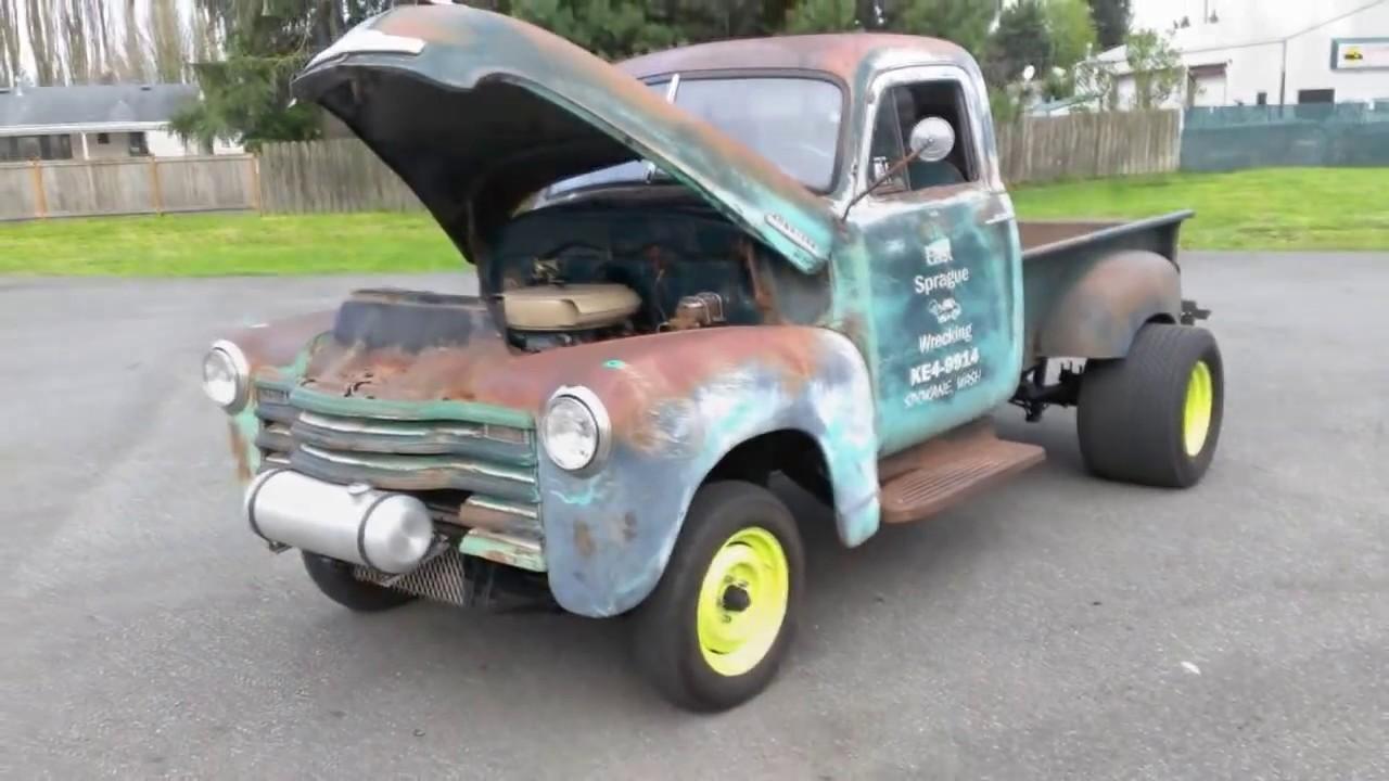 1953 Chevrolet Gasser Pickup Youtube