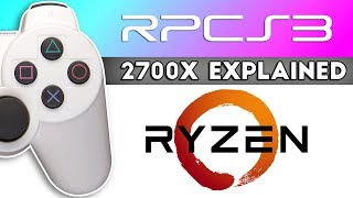 RPCS3 & AMD Ryzen Explained - The 2700X Beast!