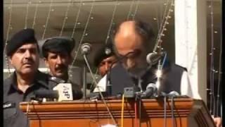 drunk CM Aslam khan Raisani muslim country persented by khalid Qadiani.flv