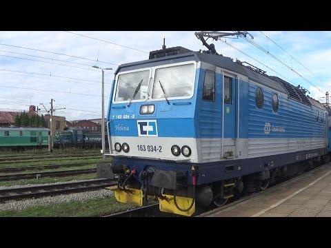 Stacja PKP Czechowice Dziedzice (Rail Polska, ČD Cargo, Lotos Kolej...) /Challengery, Traxxy.../