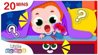What's Under my Bed? No No, Apples and Bananas |  Kids Songs by Little Angel