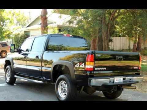 2006 gmc sierra 2500 diesel truck 6 6l duramax allison for Zoom motors sacramento ca