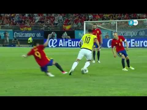 James Rodriguez vs España New Sport HD 720p 07 06 2017