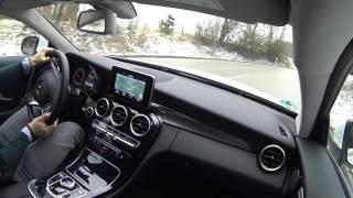 2016 Mercedes Benz C Coupe C180 -  Testrive & Sound POV