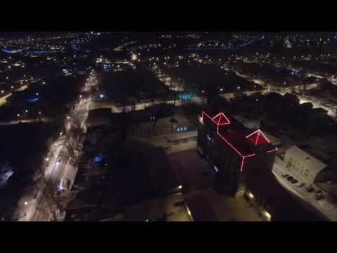Впервые ночной Ачинск