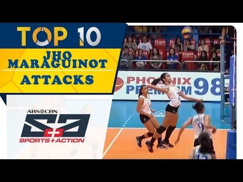 Top 10: Jho Maraguinot Attacks