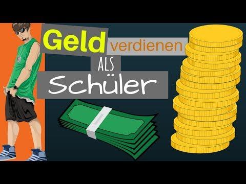 SUPER NEBENJOBS FÜR SCHÜLER - Geld verdienen als Jugendlicher mit 13,14,15 & 16 Jahren