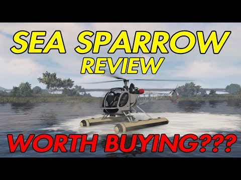 GTA ONLINE - SEA SPARROW REVIEW! WORTH BUYING?