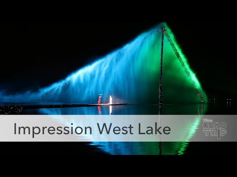 Impression West Lake Show in Hangzhou, China