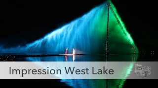 Impression West Lake Show in Hangzhou, China