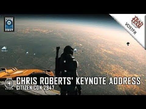 CitizenCon 2947 - Présentation de la démo par Chris Roberts