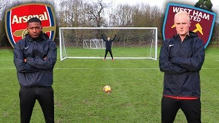 PRO FOOTBALL CHALLENGES VS AINSLEY MAITLAND-NILES & GRADY DIANGANA
