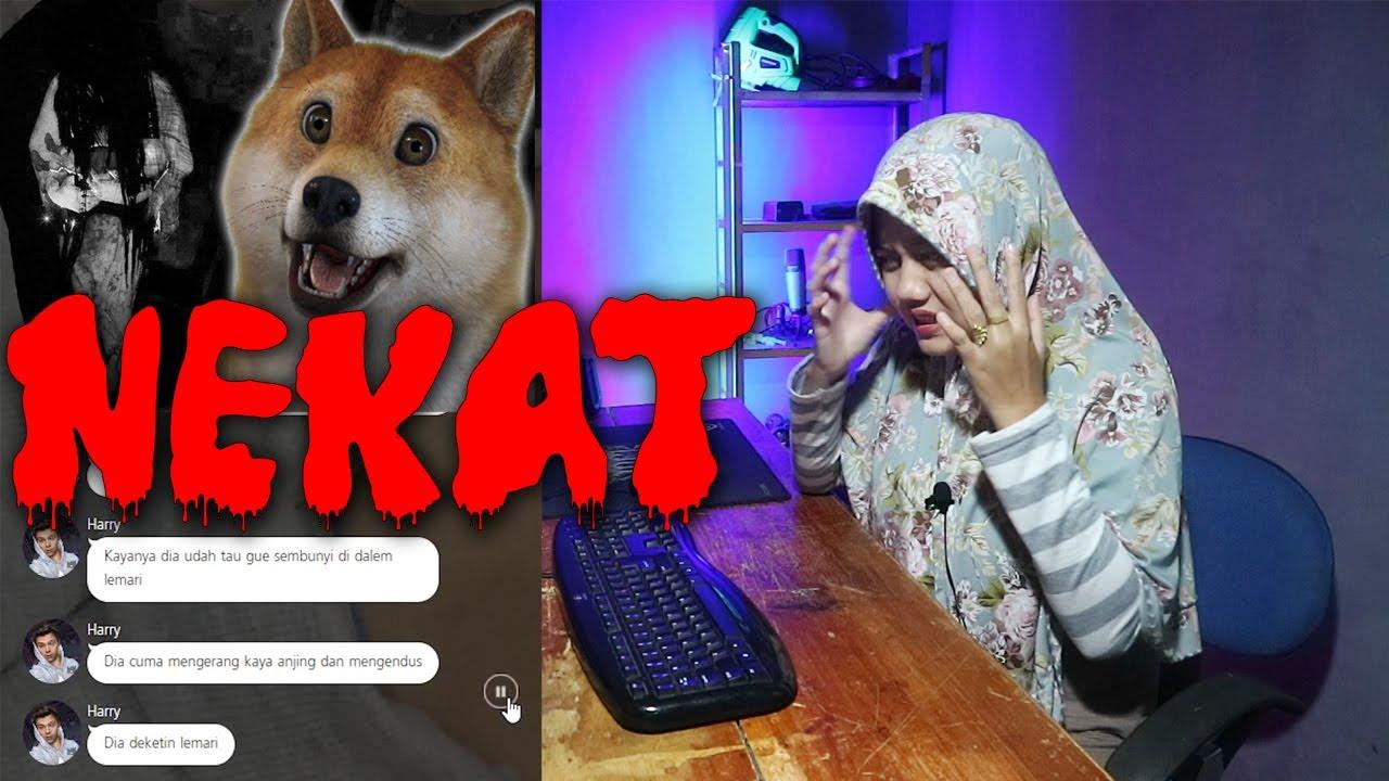 NEKAT - chat story horror seram indonesia 😱