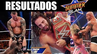 RESULTADOS DE WWE SUMMERSLAM 2019