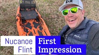 NuCanoe Flint fishing kayak review - First Impressions of an amazing $1,000 kayak.