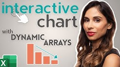 How to Create an Excel Interactive Chart with Dynamic Arrays