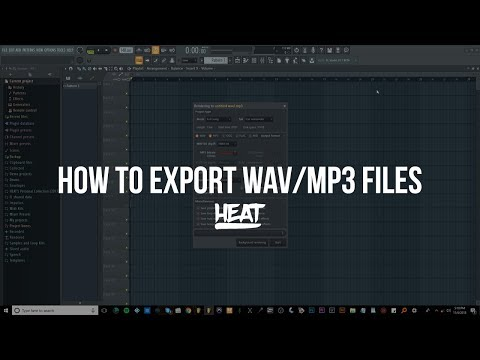 How To Export WAV & MP3 Files In FL Studio (Stop Your Mix From Sounding Bad After Exporting)