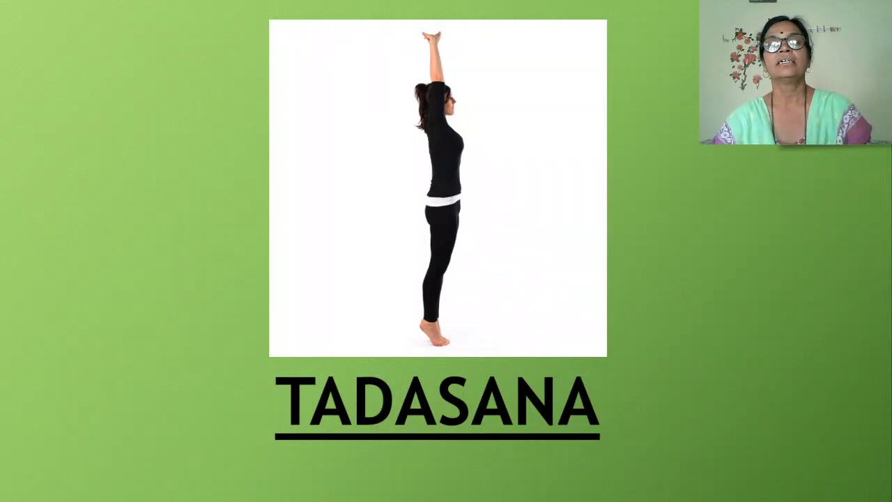 Tadasana Information In Marathi