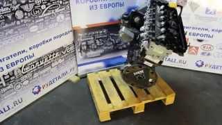 Тестированный бу двигатель Land Rover Range Rover M57 306D1 3.0TD TD6 из Германии - HD(Смотреть