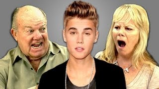 Repeat youtube video ELDERS REACT TO JUSTIN BIEBER