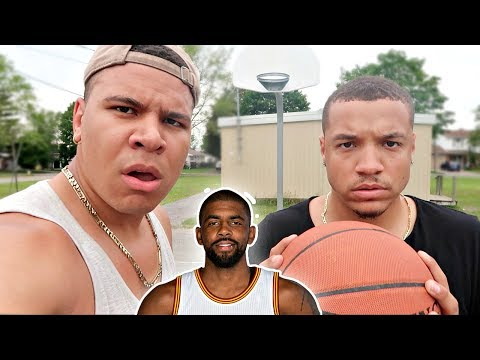 $1000 KYRIE IRVING LAYUP CHALLENGE!! (FEAT. WOLFIE)