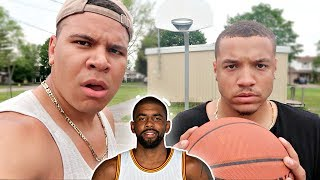 1000 kyrie irving layup challenge!! (feat. wolfie)