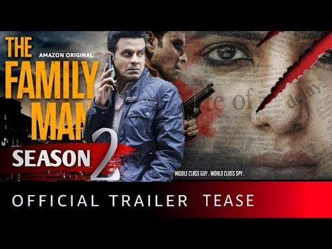 THE FAMILY MAN Season 2 - Official Trailer | Preview | Manoj Bajpayee | Samantha | Amazon Prime