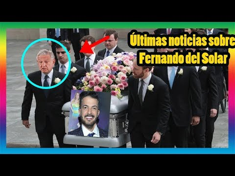 ¡INCREIBLE! 😱¿Por qué el funeral de Fernando del Solar tiene la apariencia de esta persona?