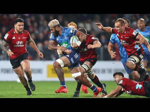 2020 Super Rugby Aotearoa Round Five: Crusaders Vs Blues