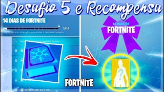 SOLVING THE CHALLENGES FOR FREE-14 DAYS OF FORTNITE (DAY 5)
