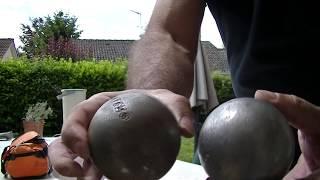 nettoyer ses boules de petanque en 30 secondes