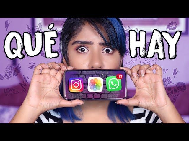 VEAMOS QUE ESCONDE MI IPHONE TAG | KAREN POLINESIA MUSAS LOS POLINESIOS