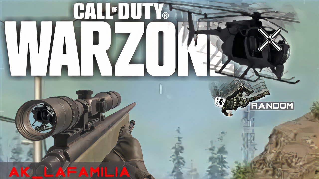 Warzone but AK hit an Amazing Shot and did not get to record it..